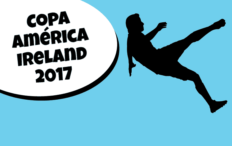 Copa América Irlanda Football Tournament Menu Photo