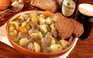 Receta del Irish Stew (estofado Irlandés)