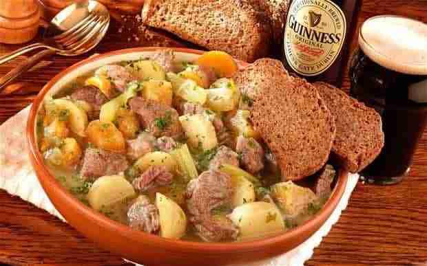 Receta del Irish Stew (estofado Irlandés) - Receita de Irish Stew (Ensopado Irlandês)