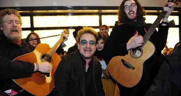 Navidad Irlanda: Una Argentina en Dublín, Irlanda con Bono de U2