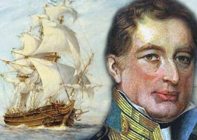 Almirante Guillermo Brown | Admiral William Brown of Foxford in Mayo in Ireland