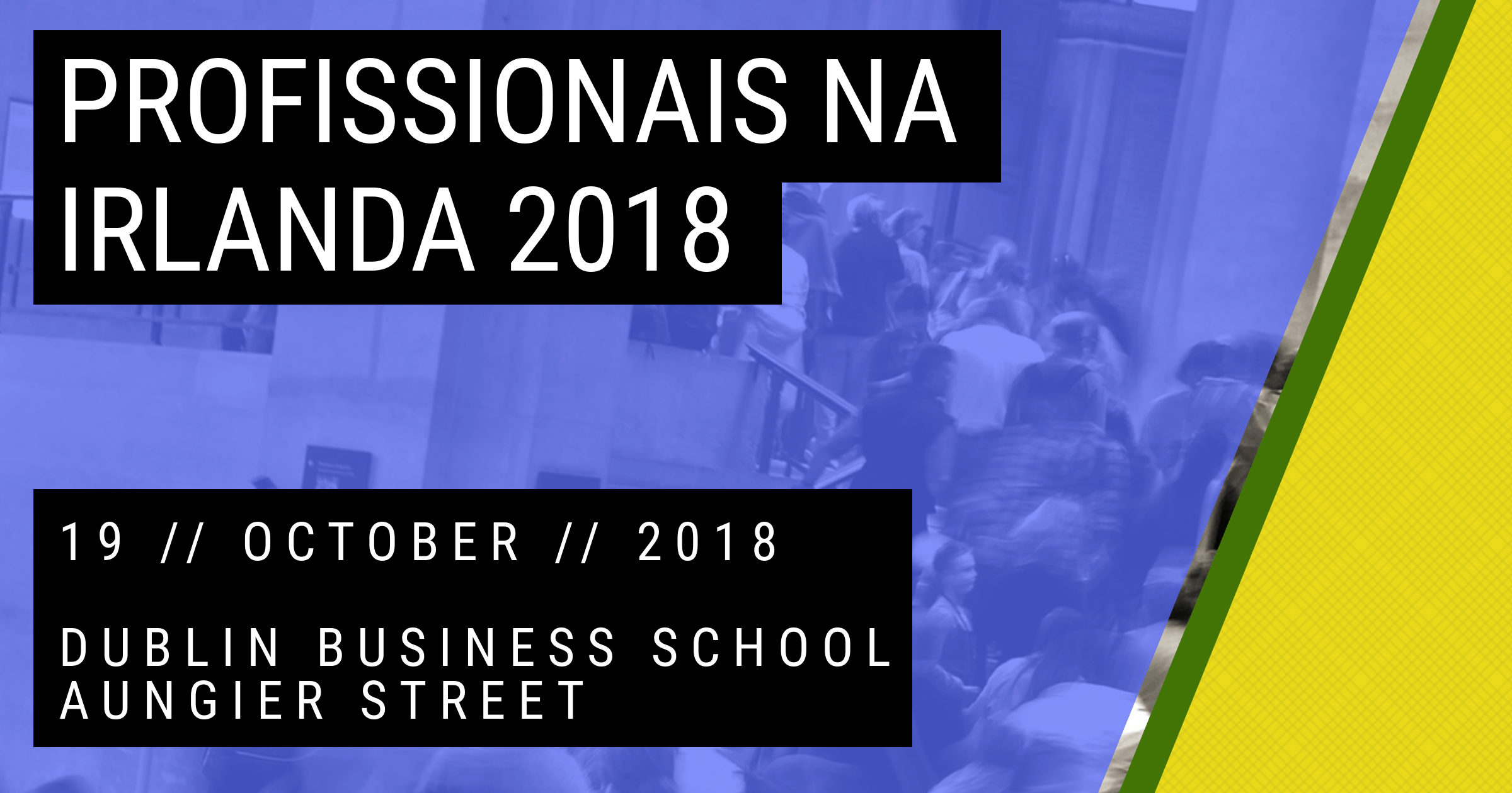 Profissionais na Irlanda 2018 - Brazilians in Ireland