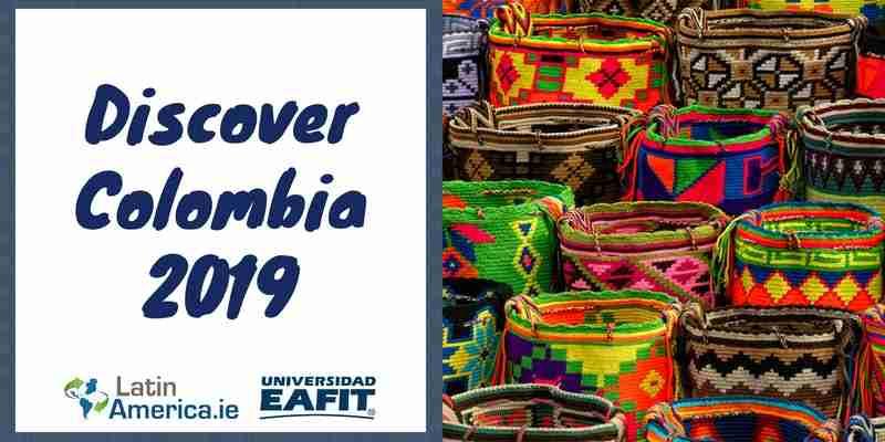 Discover Colombia 2019 - Ireland Colombia - Irlanda Colombia - Colombian Embassy Ireland - Embajada Colombiana Irlanda - Descubre Colombia